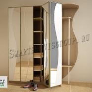 прихожая с зеркальными дверями книжкой в наличии в Витебске