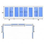 Алюминиевые балконные рамы балконные рамы пвх.