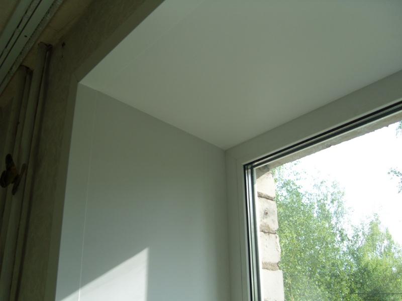 Пластиковые окна в Витебске пример откоса